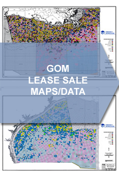 GOM Lease Sale Maps